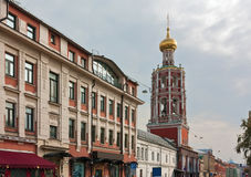 Street Petrovka in Moscow Stock Photo