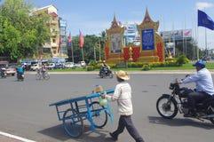 Street in Phnom Penh Stock Photo