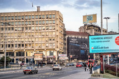 Street Photo of Central Belgrade Stock Photo