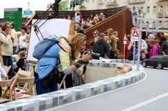 Street Photographer. Stock Image