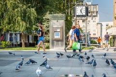 Street photography of Craiova, Romania Royalty Free Stock Photos
