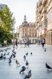 Street photography of Craiova, Romania Royalty Free Stock Images