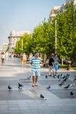 Street photography of Craiova, Romania Royalty Free Stock Image