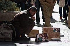 Street Photography 59: Homeless Royalty Free Stock Photo