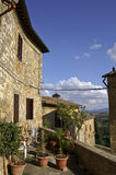 Street in Pienza Royalty Free Stock Photography