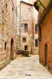 Street in Pienza Stock Image