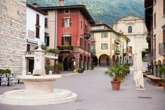 Street in Pisogne Stock Photos