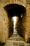 Street of pitigliano Stock Photos