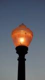 Street Pole at night west palm beach, Florida.  Stock Photos