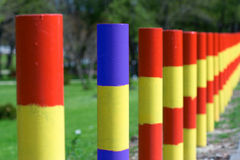 Street poles Royalty Free Stock Image
