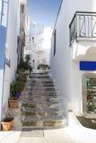Street of Ponza Stock Photography