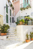 Street of Ponza Royalty Free Stock Photography