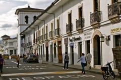 Street in Popayán, Colombia Stock Image