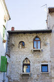 Street in Porec, Croatia Stock Images