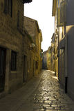 Street in Porec, Croatia Stock Photos