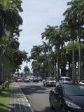 Street in Port Louis, Mauritius royalty free stock photos