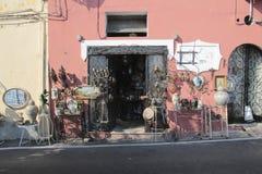 Street in Positano, Italy Stock Photography