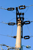 Street power pillar Stock Image