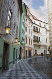 Street of Prague, Czech Republic Stock Photography