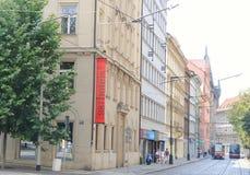 Street of Prague Royalty Free Stock Photography