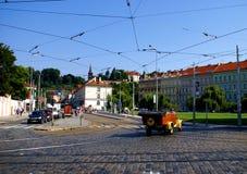 Street in Prague Stock Image