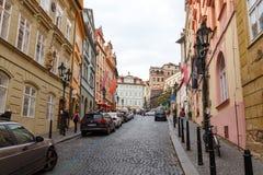 Street in Prague. Stock Image