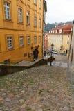 Street in Prague. Royalty Free Stock Images
