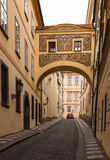 Street in Prague Royalty Free Stock Image