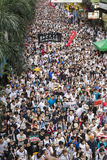 Street Protests in Hong Kong Stock Images
