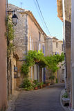 Street in Provence stock images