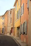 Street in the Provence. Street view of the Village of Bedoin, France Stock Image