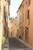 Street in the Provence Royalty Free Stock Photos