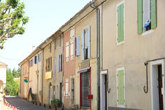 Street in the Provence Stock Images