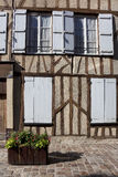 Street of Provins Royalty Free Stock Image