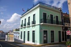 Street of Puerto Rico Stock Photos
