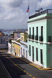 Street of Puerto Rico Royalty Free Stock Images