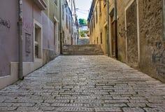Street in Pula, Croatia Royalty Free Stock Photos