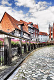 Street in Quedlinburg Royalty Free Stock Images