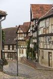 Street in Quedlinburg Stock Image