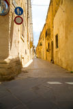 Street in Rabat Royalty Free Stock Image
