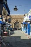 Street in Rabat stock image