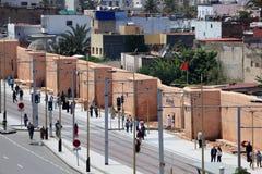 Street in Rabat, Morocco Royalty Free Stock Photo