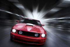 Street racing Royalty Free Stock Photography