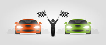 Street racing Royalty Free Stock Photos