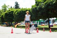 Street racing start Royalty Free Stock Photography