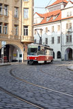 Street Railway In Prague Stock Photography
