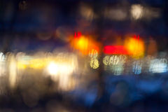 Street in the rain Royalty Free Stock Image