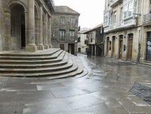 Street and rain Stock Photos