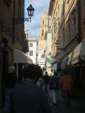 Street in Rapallo. Liguria Stock Images