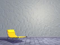 Street relaxation - 3D render Stock Images